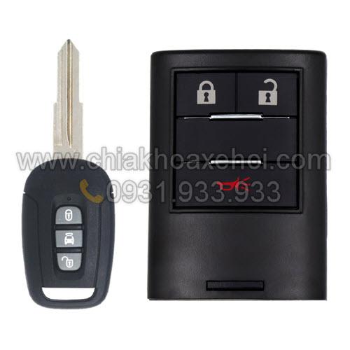 Chìa khóa Chevrolet Captiva