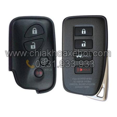 Chìa khóa Lexus LX570