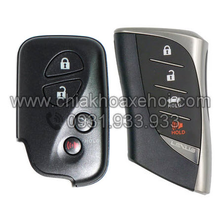 Chìa khóa Lexus LS460 LS500h LS600h