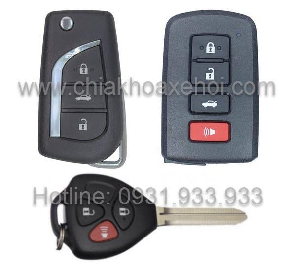Chìa khóa Toyota Corolla Altis