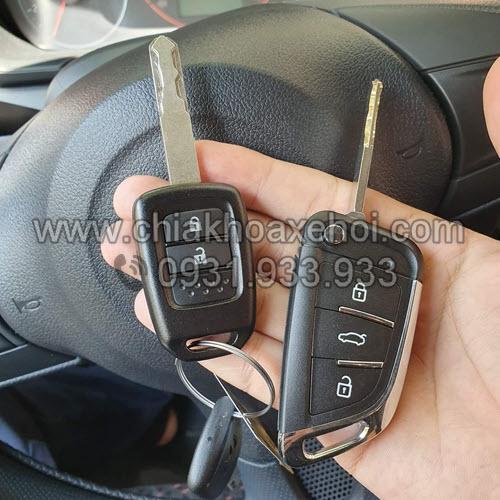 Chìa khóa gập Honda Brio