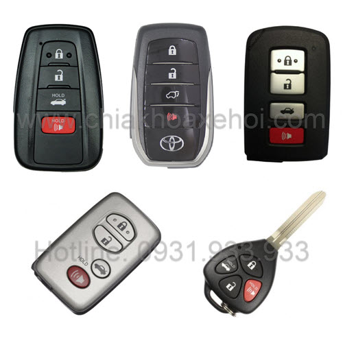 Chìa khóa Toyota Camry