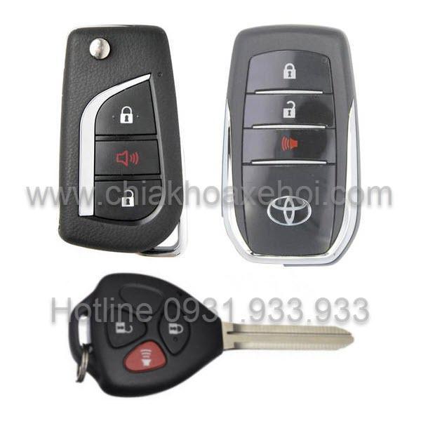 Chìa khóa Toyota Fortuner