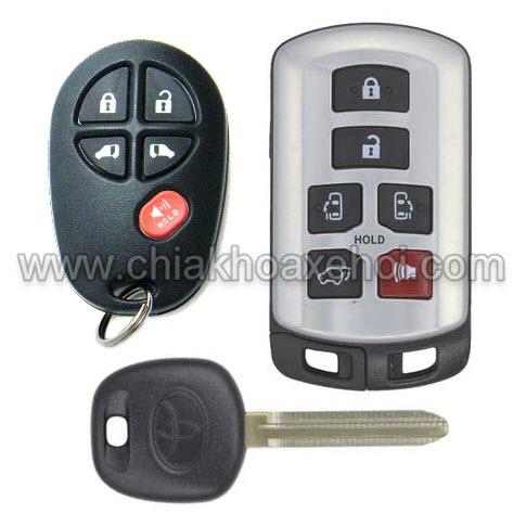 Chìa khóa Toyota Sienna