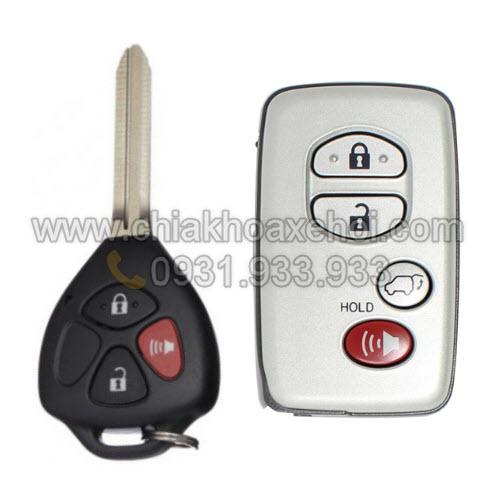 Chìa khóa Toyota Venza